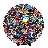 #9: Kolorobia Peacock Decorative Plate