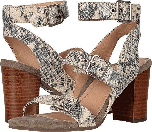 Vionic Womens Perk Carmel Backstrap Dress Sandal Natural Snake