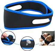 Rubik Anti Snoring Chin Strap Belt, Adjustable Mouth Snore Reduction Straps, Anti Snoring Devices, Advanced Solution Stop Sn