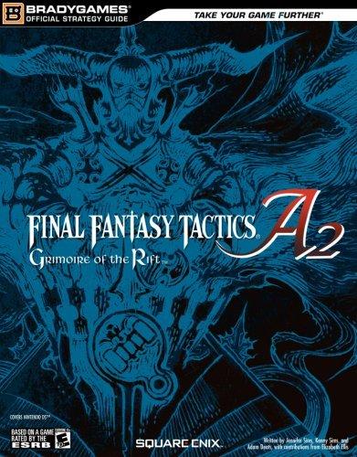 Final Fantasy Tactics A2: Grimoire of the Rift Official Strategy Guide (Official Strategy Guides (Bradygames)) by Jennifer Sims (20-Jun-2008) Paperback