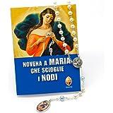 Novena a Maria che scioglie i nodi e Corona del Rosario di Maria che scioglie i nodi in confezione regalo