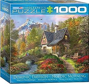 Eurographics 8000-0966 Nordic Morning - Puzzle (1000 Piezas)