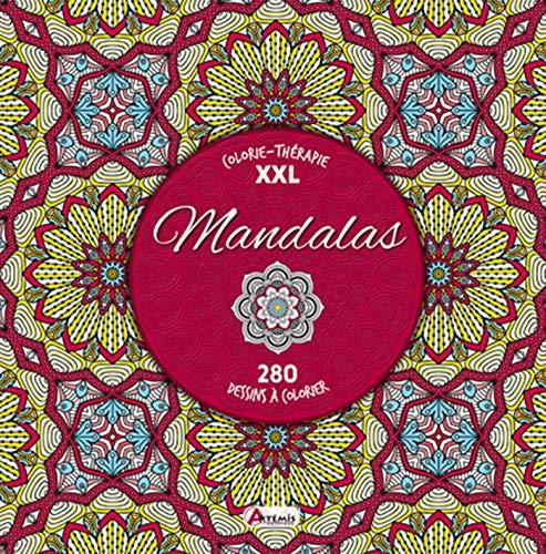 MANDALAS COLORIE-THERAPIE XXL