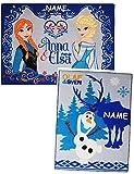 Unbekannt 2 tlg. Set: Teppich -  Disney die Eiskönigin - Frozen  - Incl. Namen - Kinde..