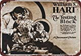 1920 The Testing Block Movie Vintage Look Reproduction Metal Tin Sign 12X18 Inches
