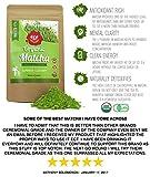 Matcha Grüner Tee-Puder 30g - 100% Zertifizierte Bio - Natürliche Energie & Fokus Verstärker Vollgepackt Mit Antioxidantien. Perfekt Matcha-Tee Zum Mischen in Lattes, Smoothies & Kochrezepte Von eco heed