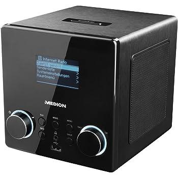 MEDION P85044 Internetradio mit DAB+, WLAN, USB: Amazon.de: Elektronik
