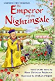 Front cover for the book The Nightingale by Hans Christian Andersen