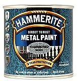 Hammerite Metallfarbe Hammered 250ml Silber