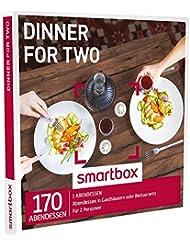 SMARTBOX - Geschenkbox - DINNER FOR 2 - 170 Abendessen in Gasthäusern oder Restaurants