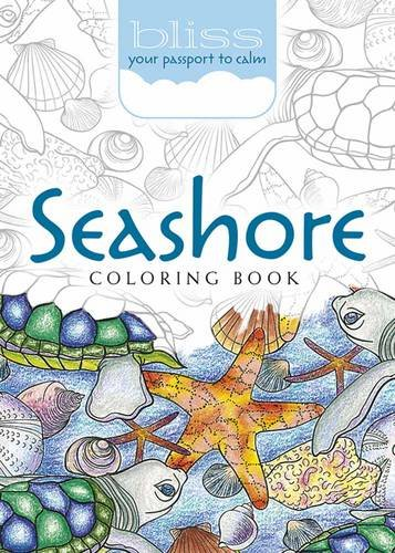 BLISS Seashore Coloring Book: Your Passport to Calm (Adult Coloring) por Jessica Mazurkiewicz