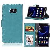 BONROY Case,Samsung Galaxy S7 Edge Flip Leather Case,...