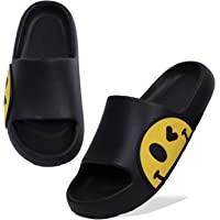 Women Men Beach Slippers Summer Sliders Sandals,EVA Open Toe Soft Slippers,Bathroom Pool Shower Anti-Slip Shoes Flip…