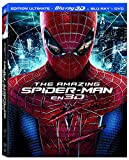 The Amazing Spider-Man [Combo Blu-ray 3D + Blu-ray + DVD]...