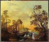 1525 Watteau De Lille (1731-1798) French School Poster