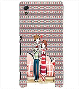 PrintDhaba Couple D-4561 Back Case Cover for SONY XPERIA Z4 (Multi-Coloured)