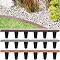 """Rasenkante """"flach"""" Palisade ✔ 3 Farben ✔ 24-er Set ✔elastisch ✔ witterungsbeständig ✔ Modell- und Farbwahl Beeteinfassung von Deuba auf Du und dein Garten"""