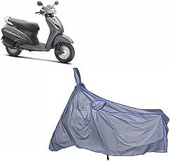 MotRoX Ultrathin Japanese Silver Two Wheeler Cover for Honda Activa 3G (100% WaterProof Fabric)