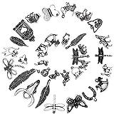 Ruby 50 piezas Colgantes (Animales e Insectos)