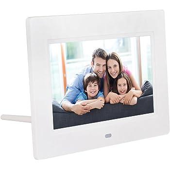 """QUMOX 7""""HD LCD Digitaler Bilderrahmen mit Uhr Diashow"""