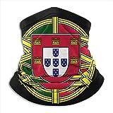 JKHHW Portugal Drapeau Logo Cou Gu/être Masque Visage Couvre-Chapeaux Cagoules pour Cyclisme Ski