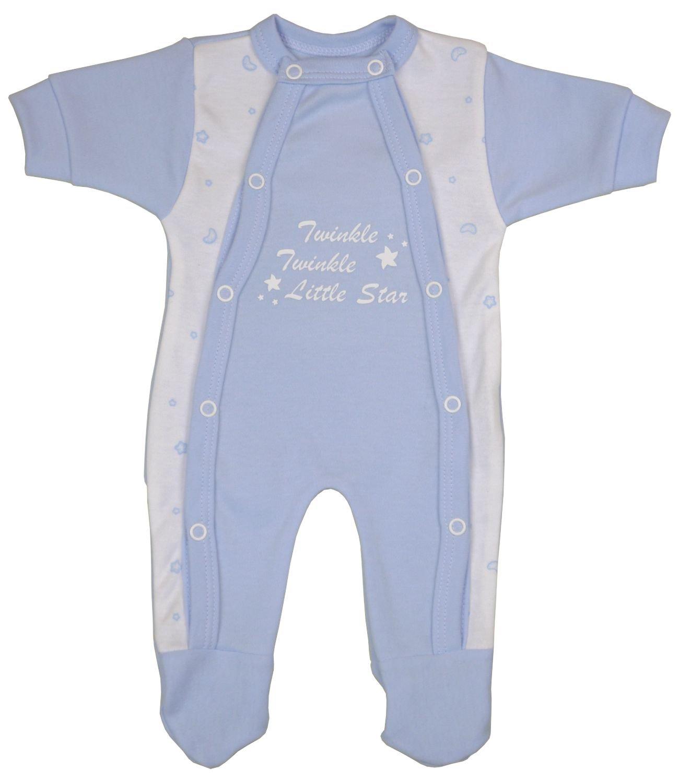 Babyprem Bebé Prematuro Pijama Mameluco Ropa Algodón Niñas Niños Twinkle Little Star 32-50cm 1