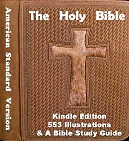 Holy bible illustrated american standard version for New american standard bible red letter edition