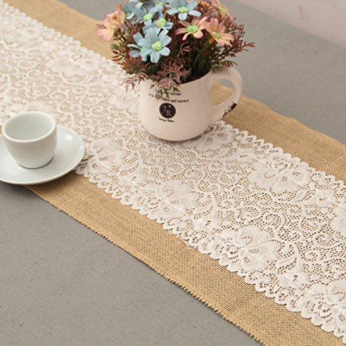 GHKLGY naturel chanvre lin linge table antique mariage décoration intérieure image 30 cm de large x180 cm de long