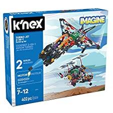 K'Nex-Grandi Giochi Turbo Jet 2In1,, GG01704