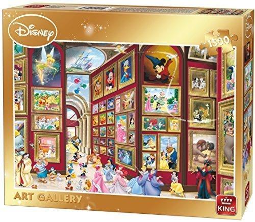 (King Disney Kunstgalerie Puzzle Puzzlespiel (1500 Stücke) Disney Klassische)