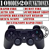 PS3 RAPID FIRE CONTROLLER : Drop Shot, Quickscope, Auto Aim, U.V.M.