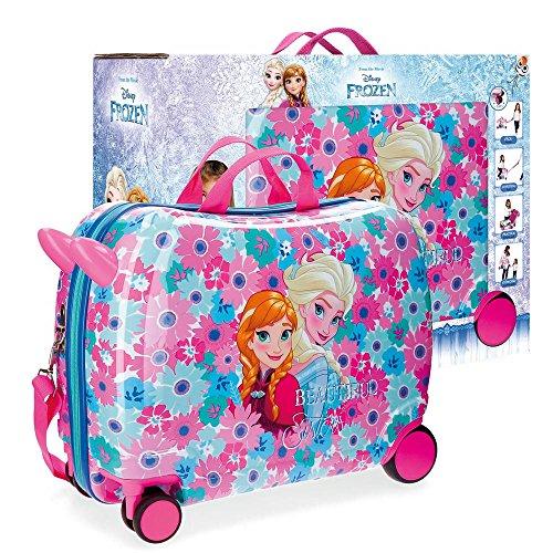 Disney flowers valigia per bambini, 50 cm, 34 liters, multicolore (multicolor)