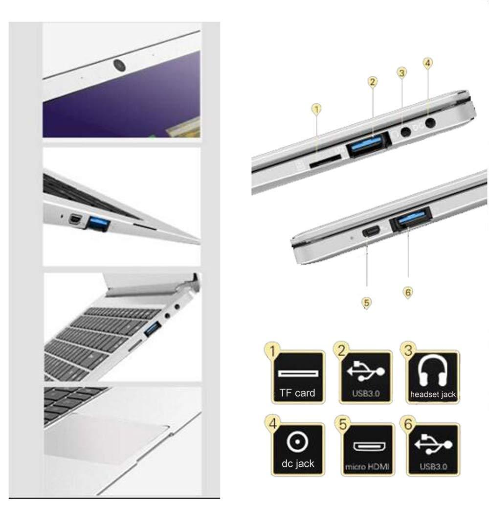 14-inch-Laptop-Intel-x5-E8000-64-bit-4GB-DDR3-RAM-64GB-SSD-Dual-4500mAH-battery-HD-webcam-Windows-10-OS-1366-768-FHD-IPS-display-Notebook