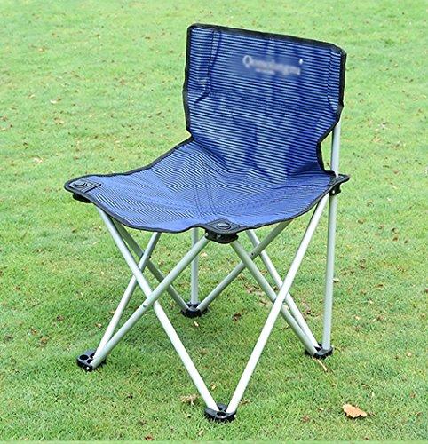 Y HWZDY Camping klappstuhl Camping Stuhl/Outdoor Klappstuhl, Angeln Freizeit Stuhl, Atmungsaktive Feste Portable Beach Chair, (Farbe : 2)