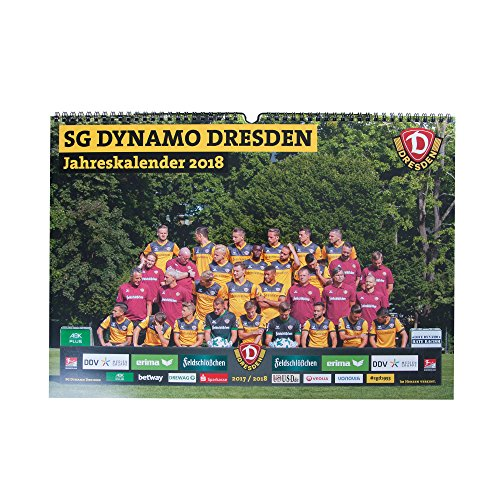 SG Dynamo Dresden Jahreskalender 2018 A3