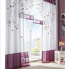 Decorazioni per finestre: Casa e cucina: Tendine, Tende classiche e ...