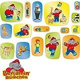 Benjamin Blümchen Coriandoli XXL Decorazione per Feste di Compleanno per Bambini di DH-Konzept // Törööööööö // Elefante per Bambini Party Set