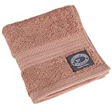 Christy Egyptian Cotton Flannel Facecloth - Sandalwood 675GSM 33x33cm