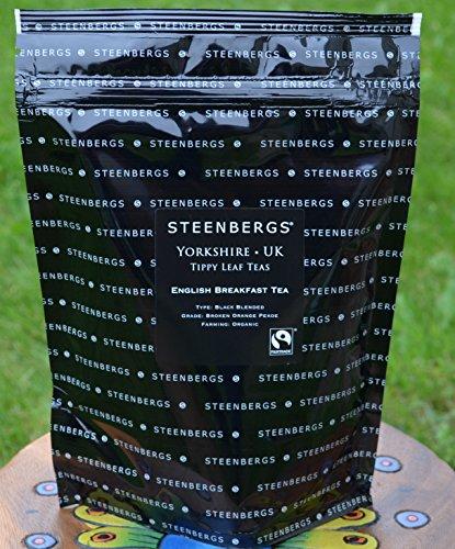 Organic Fairtrade English Breakfast Tea 1 Kilo Loose Leaf Tea