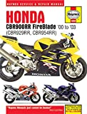 Honda CBR900RR Service and Repair Manual (Haynes Service and Repair Manual)