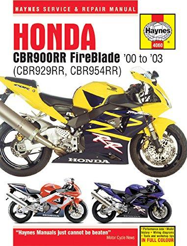 Honda CBR900RR Fireblade (Haynes Service and Repair Manual)