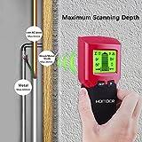Homder Stud Finder Stud Detector, 3-in-1 Metal AC Wire Stud Wall Detector, Cable Detector Wall Wire Detector Wood Finder, Multi-Scanner for Wall & Ceiling with LCD & Beep Alert Bild 1