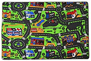 Tapis de jeux - Trafic - Tapis Circuit - 0,95m x 2,00m