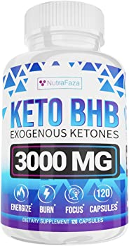 5X Keto Diet Pills + Apple Cider Vinegar with Mother - Best Weight Loss Keto BHB Supplement for Women and Men - Boost Energy