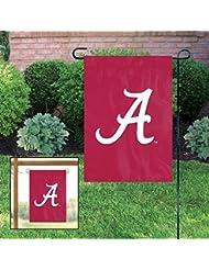 Party Animal Sports Fan NCAA Team Alabama Crimson Tide Garden/Window Flag by Party Animal