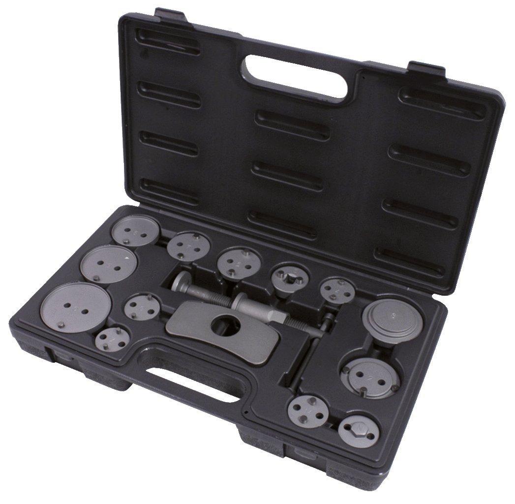 KS Tools 4042146102381 150.2015 Bremskolben-Rückstell-Werkzeug-Satz, 15-tlg.