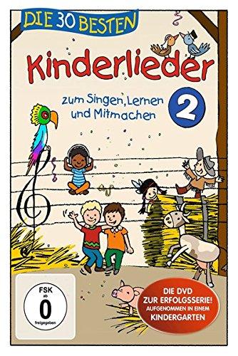 Die 30 besten Kinderlieder 2 - Die DVD - zum Singen, Lernen und Mitmachen -