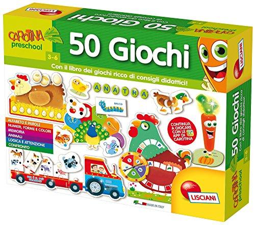 Lisciani giochi 53186 - carotina penna parlante 50 giochi