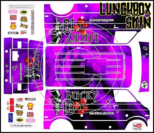 sticker licker Skin für Tamiya Lunchbox R/C Monster Truck (englischsprachig) Pink The Gambler Lucky 13