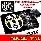 Maus Pad Juventus Fußball Juve Personalisierte Mauspad mit Foto, Logo etc